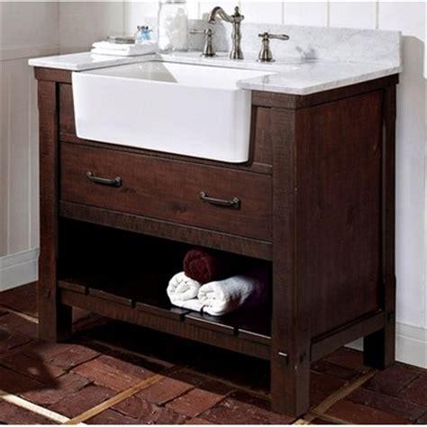 "Napa 36"" Farmhouse Traditional Single Sink Bathroom Vanity"
