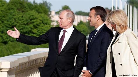 emmanuel macron putin french president emmanuel macron in russia proposes joint