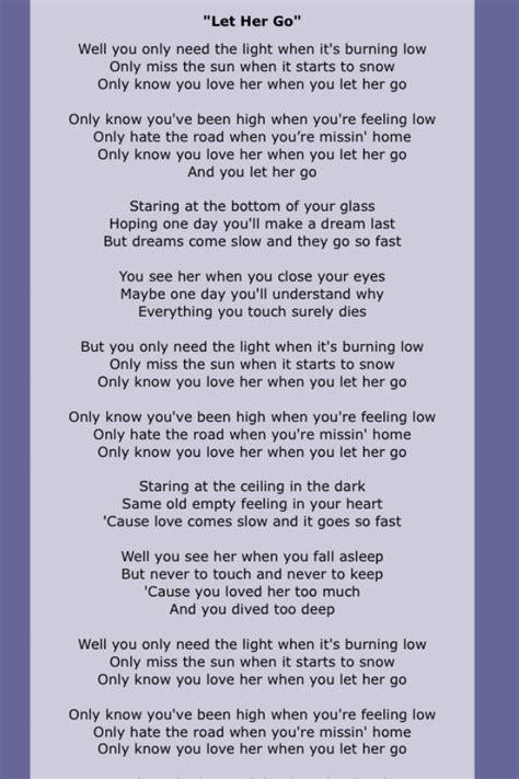 passenger testo passenger let go best lyrics