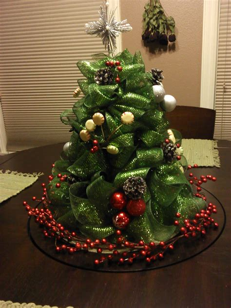 mesh ribbon christmas tree tutorial sew fantastic mesh tree