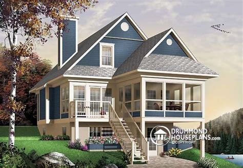 tiny home archives drummond house plans blog lakefront cottage chalet archives drummond house plans