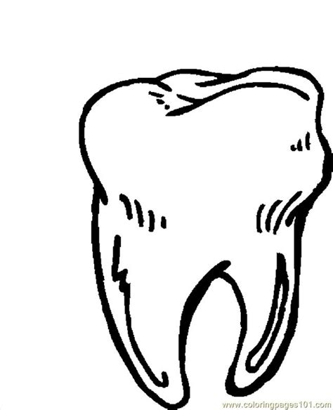 dental health and teeth coloring pages barriee