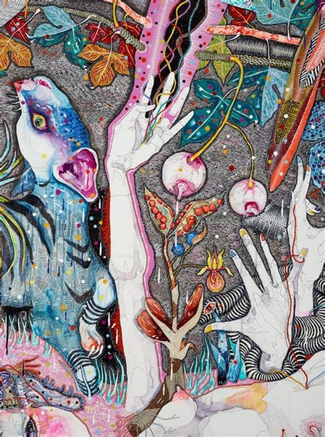 Del Kathryn Barton Artwork by Come Of Things 2010 By Del Kathryn Barton The