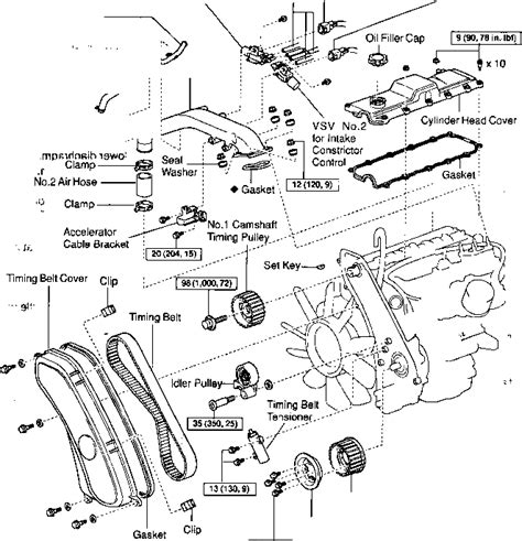 96 mazda b2300 engine diagram 96 ford windstar engine