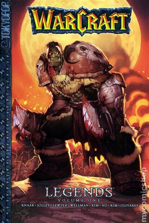 libro warcraft legends vol 2 warcraft legends gn 2008 digest comic books