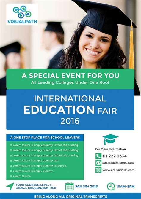 education flyer templates free education flyer template psd titanui