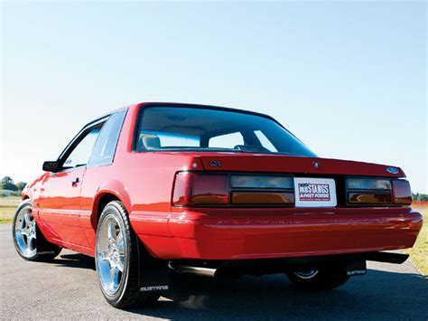 92 ford mustang lx mmfp 0712 02 z 1992 ford mustang lx notchback front