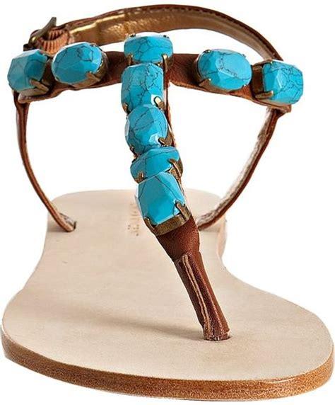Flat Shoes Cynthia Bernice 595 twelfth cynthia vincent turquoise