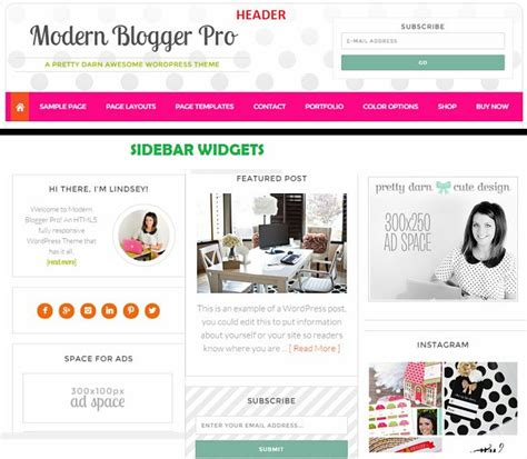 blog theme genesis studiopress modern blogger pro review read truth