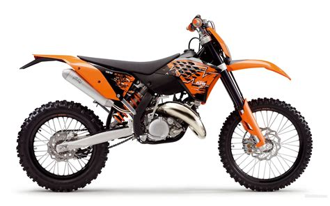 Ktm 125 Exc 2008 Ktm 125 Exc Pics Specs And Information