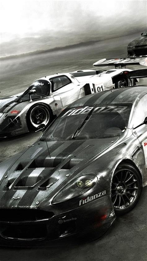 Awesome Car Wallpapers Iphone by Iphone 5 Wallpapers Hd Speed Race Car Wallpapers