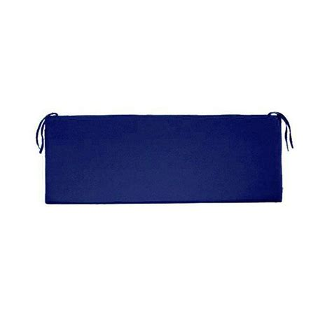 blue bench cushion home decorators collection sunbrella blue outdoor bench