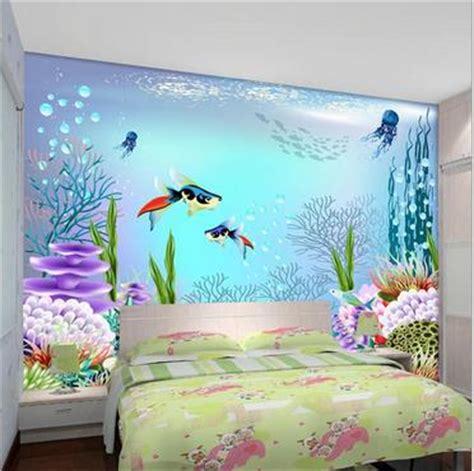 ocean bedroom free shopping 2015 new children room big blue ocean 3 d