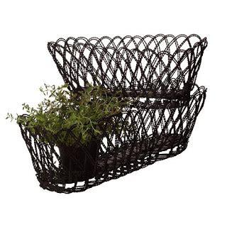 Wire Window Planters by Garden Boutique Baskets Galore