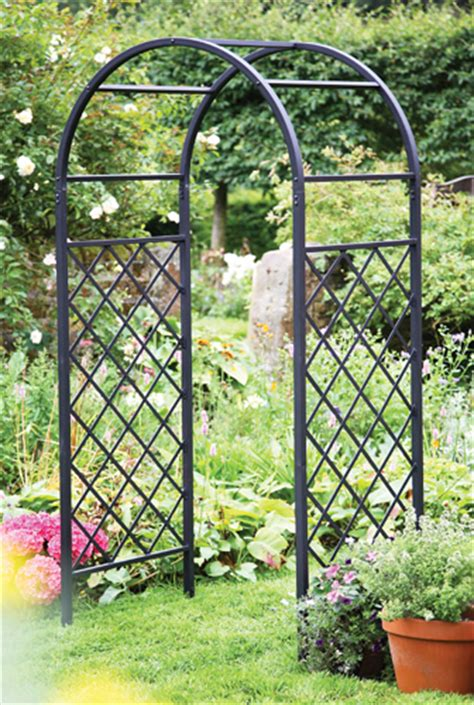 Metal Garden Arch Uk Garden Arch Trellis Images