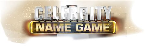 what is celebrity name game can you guess the celebrity celebrity name game