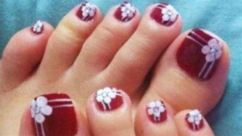 imagenes de uñas decoradas sencillas para los pies uňas decoradas sencillas de los pies imagui