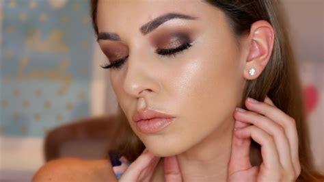 eyeshadow tutorial brown eyes youtube beginners brown smokey eye makeup tutorial hooded eyes