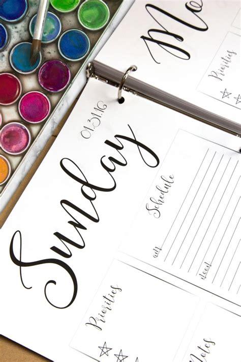 free download printable planner 2016 2016 planner printable sarah johnson