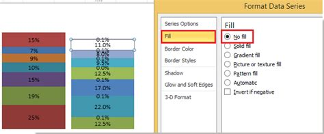 how to fill column with series repeating pattern numbers how to add leader lines to stacked column in excel