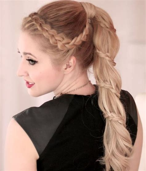 how to wear a ponytail at 40 braided ponytail hairstyles 40 cute ponytails with braids
