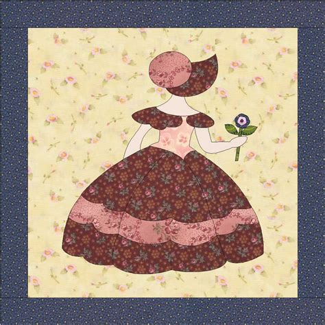 Sunbonnet Sue Quilt Block Pattern by Sunbonnet Sue Quilt Pattern Instant Pdf 12