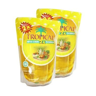 Minyak Goreng Tropical Di Carrefour jual tropical minyak goreng 2 liter 3 pouch