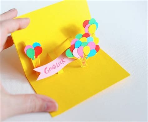 how to make a pop up greeting card for birthday ways to buy eye catching greeting cards designer mag