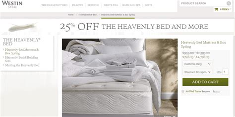 westin heavenly bed sale westin heavenly bed 25 off march sale
