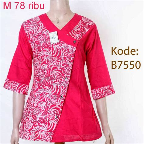 Baju Atasan baju atasan wanita model baju batik modern model baju