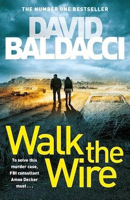 book review walk  wire  david baldacci debbish