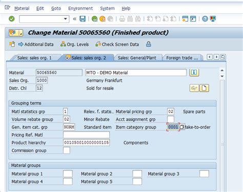 sap va21 tutorial sap make to order process tutorial free sap sd training