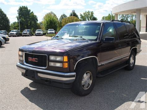 books on how cars work 1997 gmc yukon instrument cluster 1997 gmc yukon slt for sale in plymouth michigan pictures