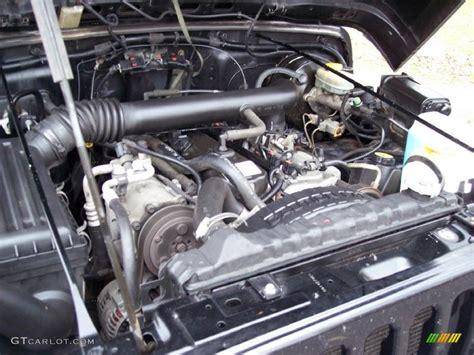 4 0 6 cylinder jeep engine 1998 jeep wrangler 4x4 4 0 liter ohv 12 valve