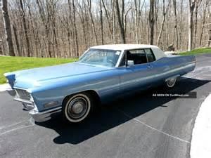 1968 Cadillac Sedan 1968 Cadillac Coupe De Ville
