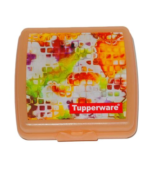 Snack Keeper Tupperware tupperware sandwich keeper available at snapdeal for rs 534