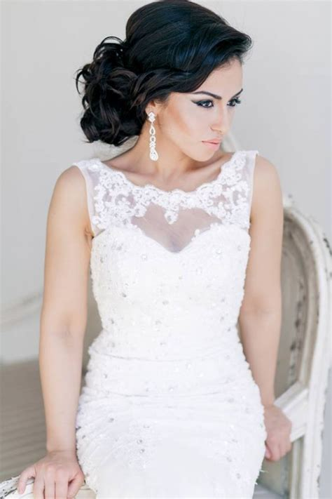 Wedding Hairstyles For Black Brides 2014 by Stylish Bridal Wedding Hairstyle 2014 2015 For Brides And