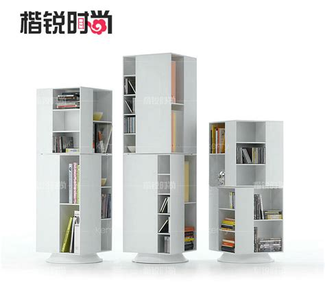 rui rotating bookcase bookcase combination of stylish