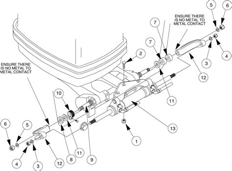 seastar hydraulic steering parts diagram adjusting nut lb 10 828085 seastar solutions teleflex