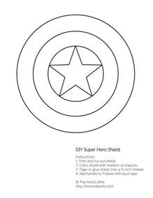 captain america shield coloring page diy captain america shield free printable the nerds
