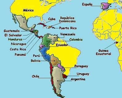 the spanish speaking world a 0415129834 map of spanish speaking countries hispanohablantes spanish faster spanish