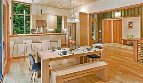 Sustainable Kitchen Design Green Prefab And Eco Friendly House Designs In Washington Iroonie