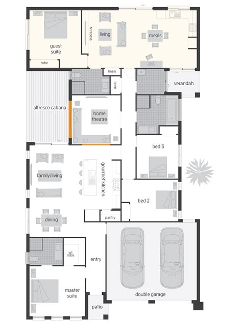 Dual House Plans duo dual living floorplans mcdonald jones homes