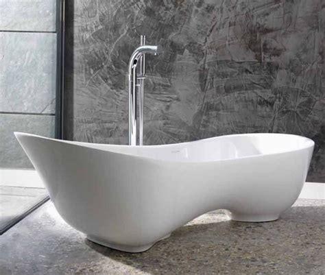 spa inspirierte badezimmer designs freistehende badewanne f 252 r wellness gef 252 hl im eigenen