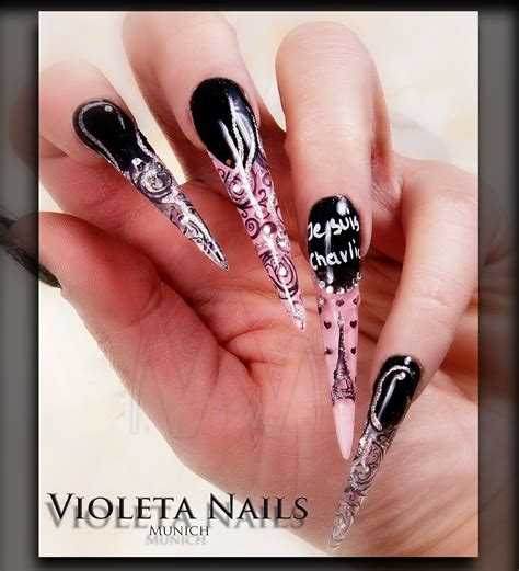 Nails And by Stiletto Nails Acrylic And Gel Nail Designs Top 10