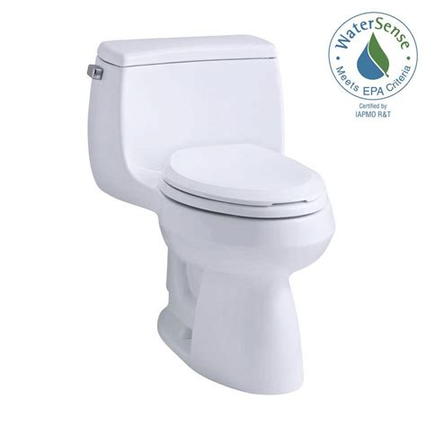 comfort height elongated toilet kohler gabrielle comfort height 1 piece 1 28 gpf single