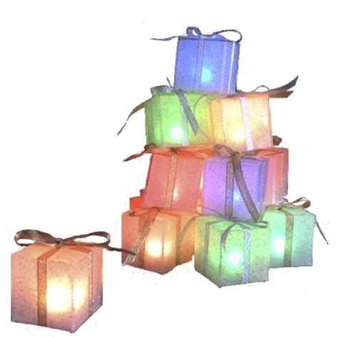 lighted gift boxes outdoor outdoor lighted gift boxes gifts for everyone