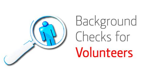 What Do You Need To Run A Background Check Should You Get Background Checks For Volunteers