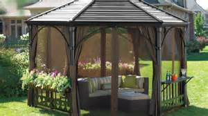 Florence Gazebo Canadian Tire by How To Choose A Gazebo Or Awning Helpful How Tos