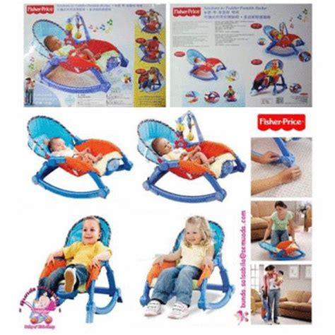 Bangku Bayi Bouncer Bangku Getar jual murah kursi getar bayi baby bouncer fisher price new born to toddler portable rocker